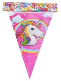 Unicorn banner/flag