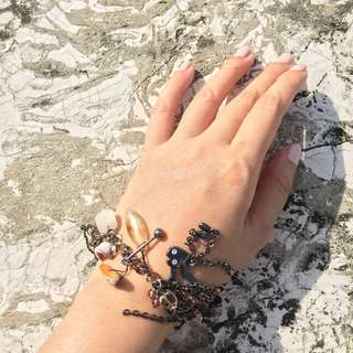 Dangling Charms Bracelet