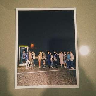 Seventeen BoysBe Postcard