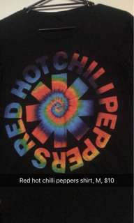 Red hot chilli peppers shirt