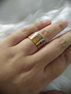 Tricolor Rings (3in1 set) size 7