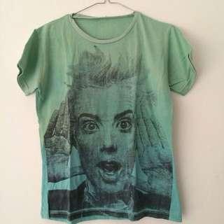 t-shirt (kaos) ombre