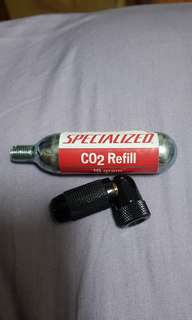 Specialized Co2 emergency inflator