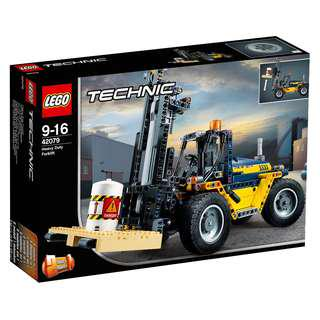 <DEREK> Lego Technic Heavy Duty Forklift 42079