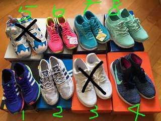 全新!女裝運動鞋 跑鞋 出街鞋