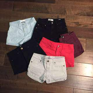 Lots of shorts!!