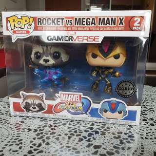 Funko Rocket vs Mega Man X Exclusive