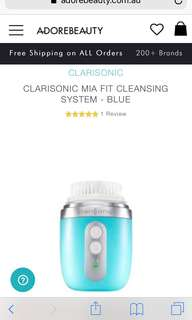 Clarisonic mia fit cleansing device BLUE
