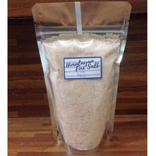 Himalayan Fine Salt 250 grams - Food Grade