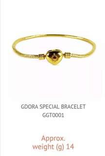 Gdora 916 Gold Special Bracelet (Premium)