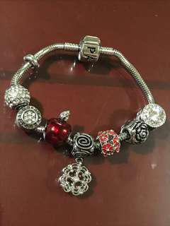 Pandora Inspired bracelet Stainless steel