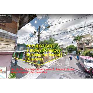 For Sale Pre Selling 3 Storey Dormitory Building in San Juan City for Rental Business