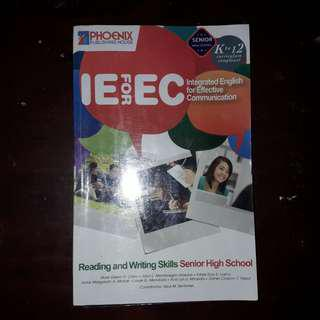 K-12 SHS BOOK: Reading and Writing