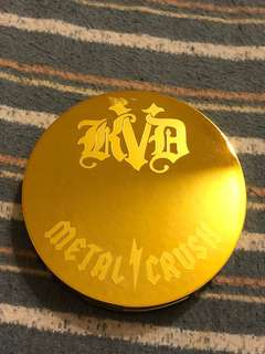 Authentic Kat Von D 10th Year Anniversary Gold Skool Metal Crush Extreme Highlighter