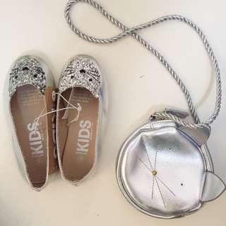 Cotton on kids flatshoes