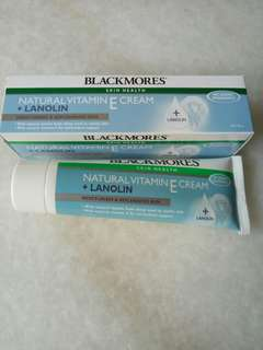 Blackmores Natural Vit E Cream+Lanolin