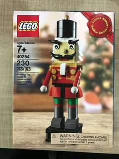 Lego limited edition Christmas Nutcracker