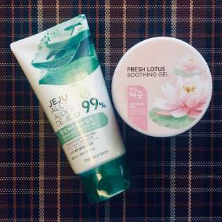BunDEAL! The Face Shop Soothing Gels