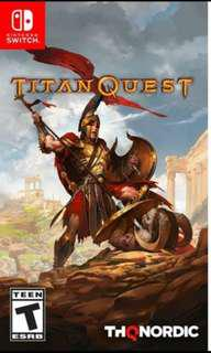 Want to BUY titan quest for switch