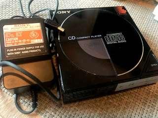 Sony D-5 D-50 Discman 世界第一部隨身CD機