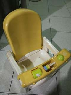 Baby bath seat/baby booster seat