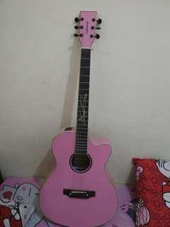 Gitar pink merk lakwood