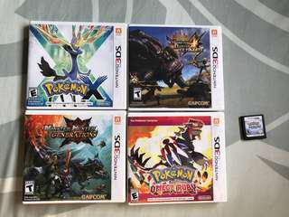 3DS Games [ALL RESERVED]