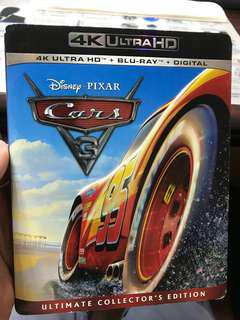 反斗車王3/ Cars 3 4k bluray 高清美版
