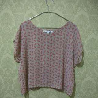 Woman Top - chiffon