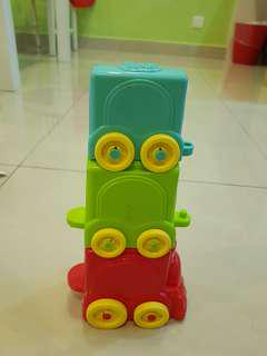 Fisher Price Infant Stack and Roll Train