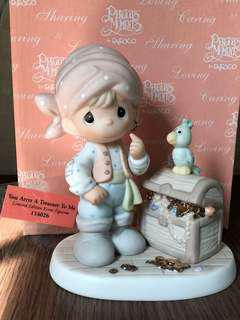 "MIB Limited edition event Precious Moments Figurine ""You Arrrr a Treasure to Me"" #114026"