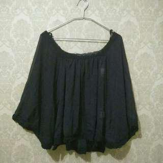 Woman top - cape sabrina