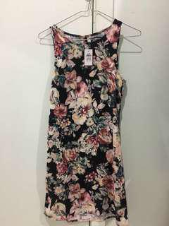 Floral Dotti dress AU6