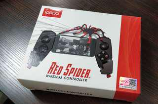 Ipega red spider wireless controller