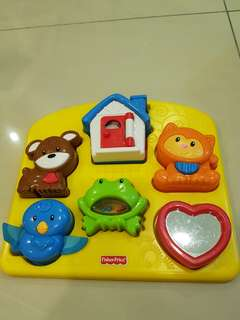 Fisher Price Toy - Animal Puzzle