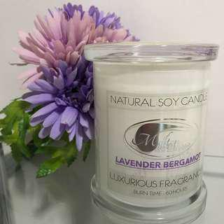 60 Hour Lavender Soy Candle