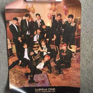 Wanna One I Promise You Night Version Poster