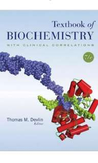 Textbook of Biochemistry with Clinical Correlations – 7th ed PDF
