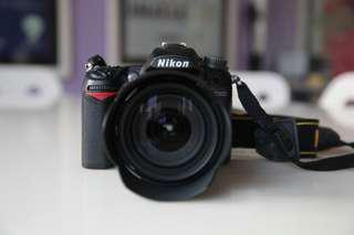 Nikon D7000 AF-S 18-105mm