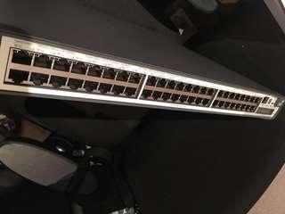 2 x HP Switch 5500-EI 48 Port Giga