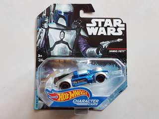 Star Wars Hot Wheels Jango Fett