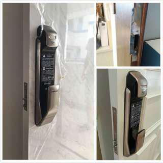 Installation Service for All Samsung Mortise Digital Lock (P910/P920/P820/P710) at $160 (Price not including lock)