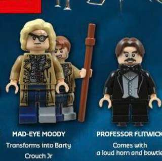Lego Harry Potter Professor Minifigures