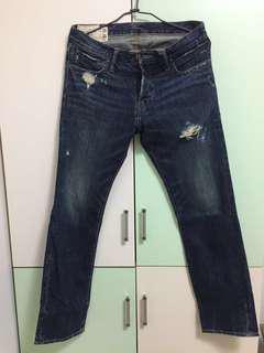A&F 牛仔褲