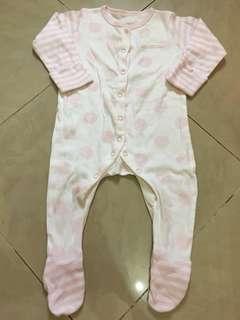 Mothercare Onesie/Bodysuit/Sleepsuit for Baby Girl