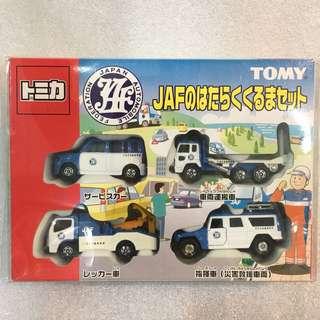 Tomica JAF boxset 06年中制 日本自動車聯盟 拖車板車套裝