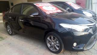 All new Vios G AT 2014
