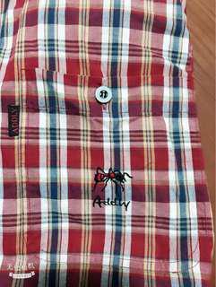 🚚 紅螞蟻棉質襯衫