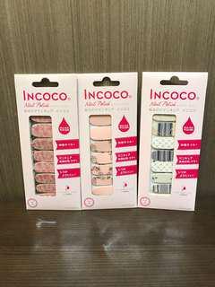 全新美國 Incoco 指甲貼 購自日本