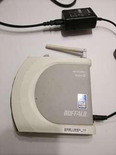 🚚 buffalo無線分享器whr-g54s